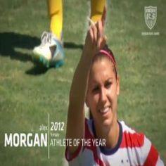 Alex Morgan é a atleta americana de futebol feminino do ano 2012 - AC Variedades