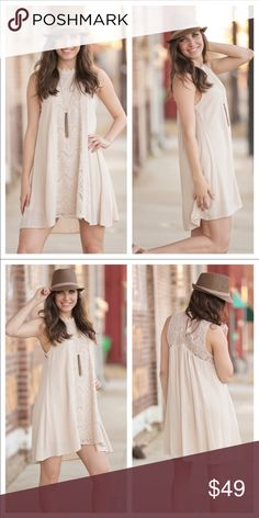 Bahamas Breeze Tunic Dress PREORDER This cute tunic dress is great for your upcoming girls trip. Infinity Raine Dresses Mini