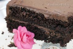 "The Hershey's ""Perfectly Chocolate"" Chocolate Cake is chocolately, rich, moist, and delicious. Nearly as easy to make as a box chocolate cake."