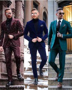 men suits style -- Click VISIT above for more options Stylish Suit, Stylish Mens Outfits, Mode Masculine, Men's Suits, Cool Suits, Turtleneck Suit, Best Suits For Men, Traje Casual, Designer Suits For Men