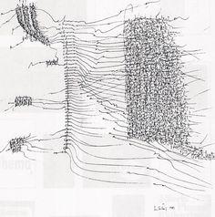 Ana Hatherly - asemic writing Writing Images, Writing Art, How To Write Calligraphy, Calligraphy Art, Grafik Art, Graphic Score, Poesia Visual, Pseudo Science, Organic Art