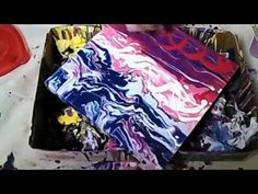 Acrylic Fluid Painting: How to Do a Dirty Pour - YouTube