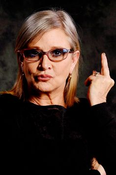 The Master At Work is listed (or ranked) 5 on the list Here's A Bunch Of Pictures Of Carrie Fisher Flipping People Off Debbie Reynolds Carrie Fisher, Carrie Frances Fisher, Starwars, Princesa Leia, Celebs, Celebrities, Woman Quotes, Role Models, Carry On