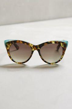 32155da3b9f ett twa ett  twa Signe Sunglasses Brown Motif One Size Eyewear