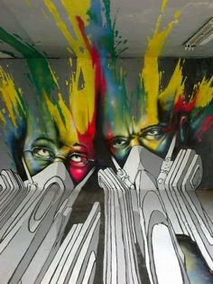 Artist: TSF Crew: anamorphic paintings. Not my thing, but i have to admire the cleverness of it
