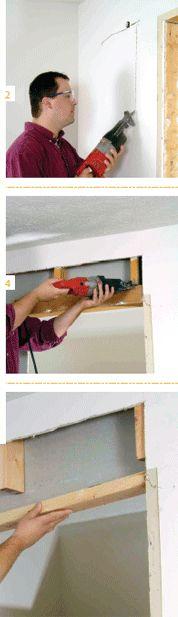to Install a Sliding Pocket Door pocket door installationpocket door installation Home Renovation, Home Remodeling, Pocket Door Installation, Sliding Pocket Doors, Home Fix, Construction, Interior Barn Doors, Diy Home Improvement, Home Repair