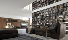 33 Modern Wall Units Decoration from Jesse Italian Sofa, Italian Furniture, Italian Interior Design, Interior Design Studio, Living Room Wall Units, Living Room Designs, Modern Wall Units, Best Flooring, Design Furniture