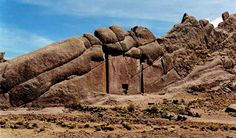 """""""Peruvian Stargate"""" - Mysterious door-like Structure Carved into a Mountain - Crystalinks"""