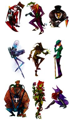 The only good thing about the Batman Universe is the villains