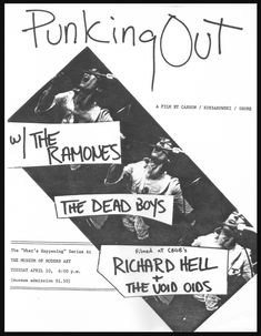 """Watch """"Punking Out,"""" a short 1978 documentary about the CBGB scene / Boing Boing Music Documentaries, Ramones, Documentary, Night Club, Scene, Shit Happens, Watch, Film, Movie Posters"""