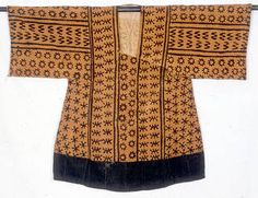 Smithsonian NMNH Collections short robe; Limba culture, Sierra Leone