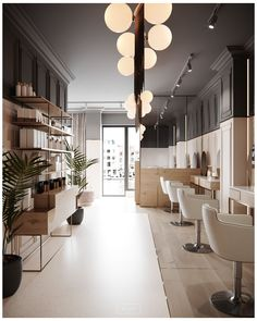 salon interior design modern