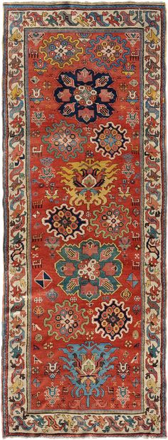 Persian Shahsavan rug, ca 1880, 110x290 cm, Schuler Auktionen Zürich