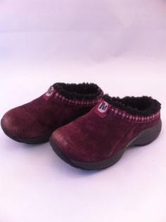 Merrill Suede Shoes with fur liner Girl's size 8-9 $9.97 Kids Clothes Sale, Suede Shoes, Fur, Fashion, Moda, Suede Pumps, Fashion Styles, Furs, Fashion Illustrations