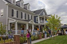 Parkwood Homes Block Party on The Mews in Stapleton, Denver, Colorado.