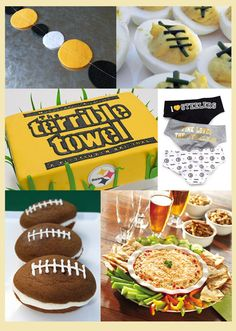 I am definitely NOT a Steelers fan, but could convert this into an OHIO STATE party