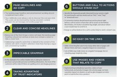 5 Awesome Infographics on Landing Page Optimization | WordPress Jedi #howto #tips #testing #copy #colors