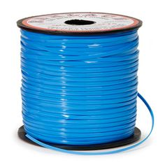 Rexlace Plastic Lace - Neon Blue - 100 yards