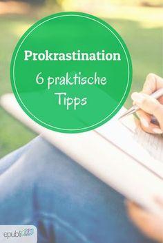 Tanja Steinlechner, Gründerin der Autorenschule Schreibhain und Leiterin unserer Webinarreihe zum Thema Schreibhandwerk, gibt Euch praktische Tipps zum Thema Prokrastination für Autoren http://www.epubli.de/blog/prokrastination-schreibprozess-tipps #epubli #schreibtipps