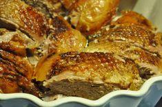 Saftig langtidsstegt andesteg i Römertopf Cooking Cookies, Good Food, Yummy Food, Danish Food, Danishes, Always Hungry, Recipes From Heaven, Chicken Wings, Poultry