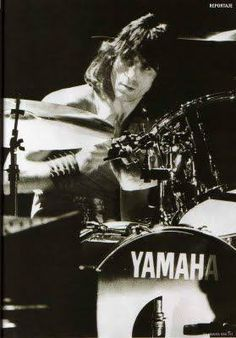 5th April 1998, British drummer Cozy Powell (Colin Flooks) was killed when his car smashed into crash barriers on the M4 motorway near Bristol, England. Powell had worked with the Jeff Beck Group,...