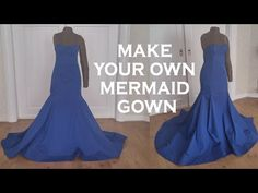 DIY mermaid gown, My Crafts and DIY Projects