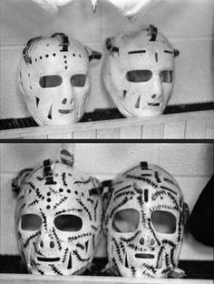 97 Best Vintage Hockey Masks Old School Hockey Images In 2019