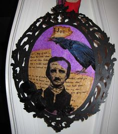 aLtErEd aRt tHe RaVeN EdGaR a pOe waLL by SauvageRavenCreation, Sold