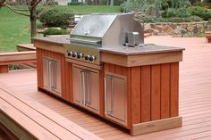 Paint colors on pinterest jungle gym outdoor kitchens for Viking outdoor kitchen