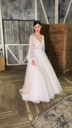 Slit Wedding Dress, Hijab Wedding Dresses, Evening Dresses For Weddings, Cheap Wedding Dress, Wedding Gowns, Bridesmaid Dresses, Bridal Gown Styles, Bridal Gowns, Cute Dresses