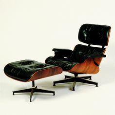 Charles und Ray Eames Lounge Chair und Ottoman