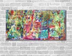Gemälde Abstrakt Acrylbild modern Unikat NEU  von Kunstgalerie Winkler auf DaWanda.com