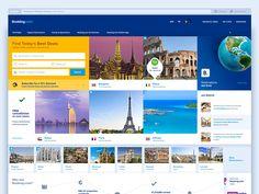 Booking.com redesign concept. by Igor Hodunay