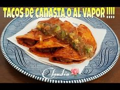 TACOS DE CANASTA O AL VAPOR MUY RICOS!!!!! - YouTube Gourmet Recipes, Mexican Food Recipes, Cooking Recipes, Ethnic Recipes, Tacos Al Vapor, My Favorite Food, Favorite Recipes, Frijoles Refritos, Butter