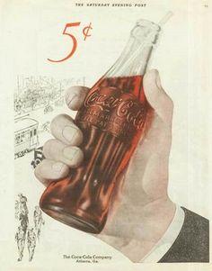 Coca Cola in bottles Coca Cola Poster, Coca Cola Ad, Always Coca Cola, Coca Cola Bottles, Coca Cola Vintage, Vintage Ads, Vintage Posters, Vintage Style, Sodas