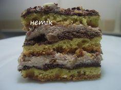 "Пляцок ""Сваха"" / Тісто: 500гр муки 1 п (250гр) маргарини 1ст цукру 9 жовтків 1 ст сметани 1ст. л порошку до печева 1 ч л амоняку. На поливку: 9 білків 9ст л цукру 3 ст л какао"