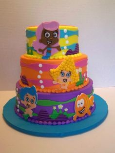 Bubble Guppies By sebrina on CakeCentral.com