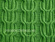 KLUBÍČKOV - pletení-vzory: Vzor č. 33