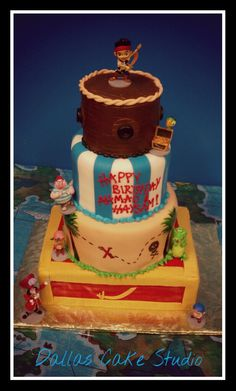 Jake and the never land pirates cake!