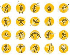 Summer sports icon set, 4633, Sport and Leisure, download Royalty ...