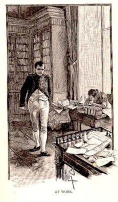 Napoleone nel suo studio