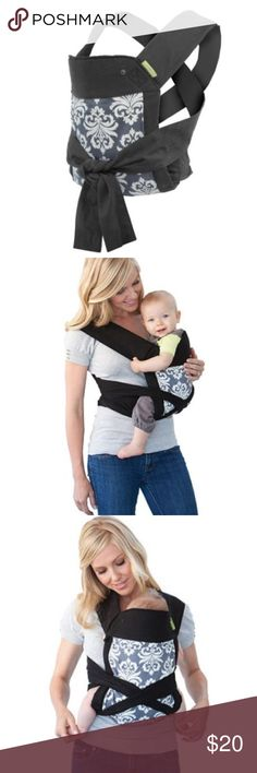Infantino Mei Tai Baby Carrier The Sash Mei Tai Infantino Baby Carrier is based on a centuries-old style of baby wearing that allows for maximum comfort and flexibility.  With so many ways to wear the Sash, you can feel free to customize your own look and fit. The wrap and tie design of the Comfort Baby Carrier naturally adjusts to your own body and grows with baby for years of comfortable use. Item has been washed Infantino Accessories