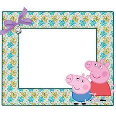 MARCOS PARA PHOTOSHOP Y ALGO MAS: PEPPA PIG