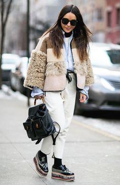 Streetstyle на Неделе моды в Нью-Йорке. День 3 и 4 | Мода | VOGUE