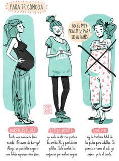 vestir embarazo