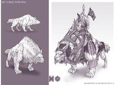Feng Zhu Design: Beast of Burden, Term 1 FZD Student Work