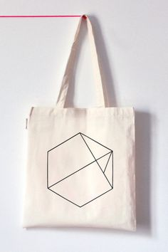 Hexagon Tote Bag A Diamond instead of the Hexagone?