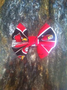 University of Louisville by ClassyPearlsBowtique on Etsy, $2.50