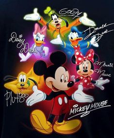 Mickey Mouse Pictures, Mickey Mouse Art, Mickey Mouse And Friends, Minnie Mouse, Mickey Mouse Wallpaper Iphone, Disney Wallpaper, Disney Cartoon Characters, Disney Cartoons, Disney Images