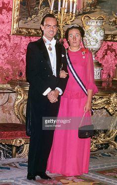 HRH Infanta D.Margarita, Duchess of Soria (the youngest sister of King D.Juan Carlos)
